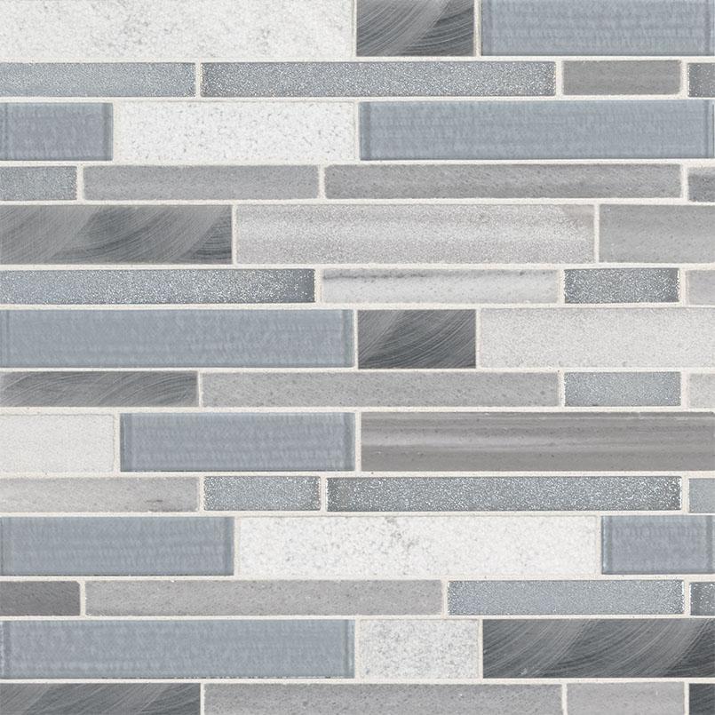 Harlow Interlocking 8mm Decorative Mosaic Tile