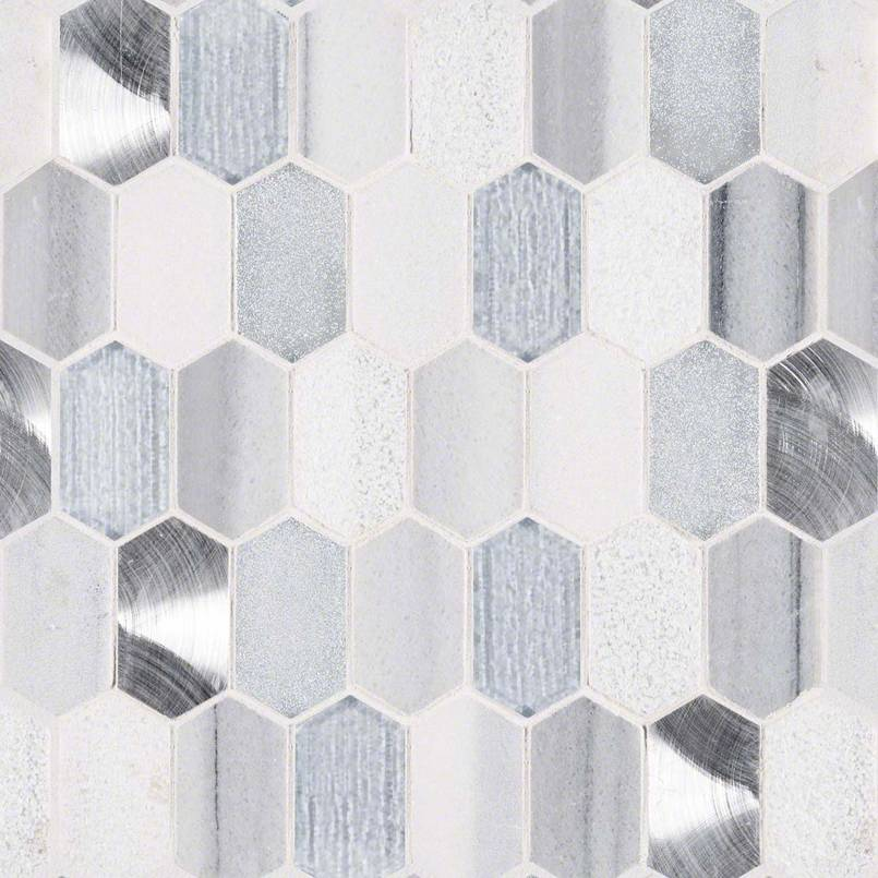 Harlow Picket 8mm Decorative Mosaic Tile