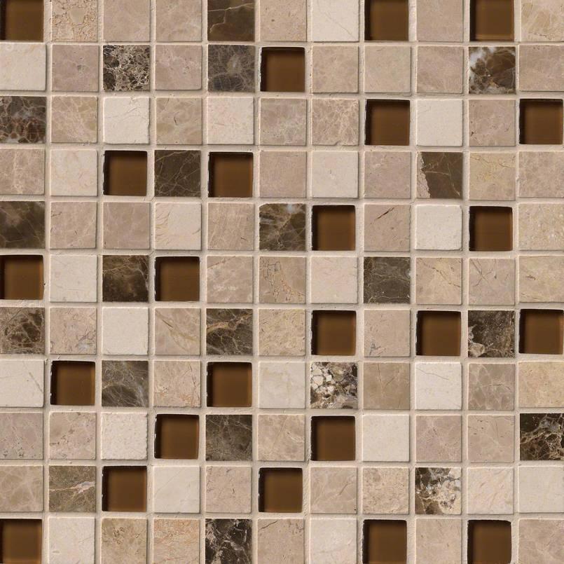 Ibiza Blend 1X1X8MM Decorative Mosaic Tile