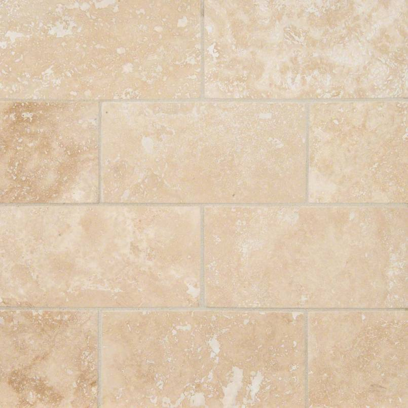 Ivory Travertine Subway Tile 3x6