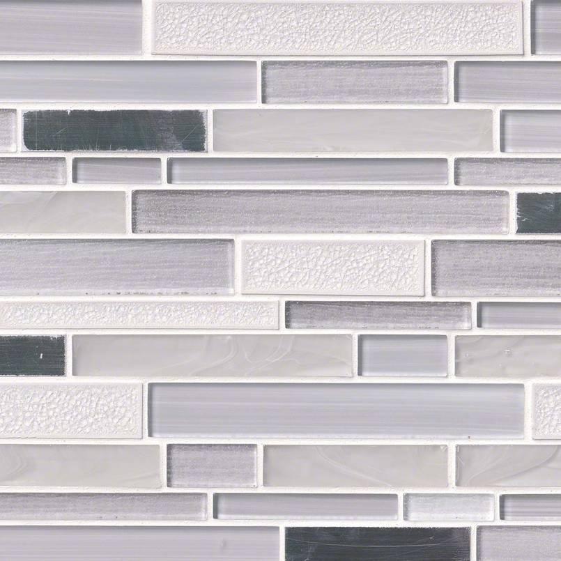 Krystal Interlocking Pattern 8mm Decorative Mosaic Tile