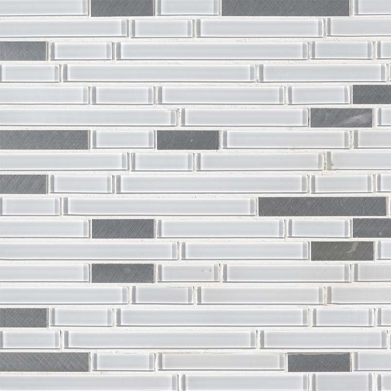 Lucid Sky Interlocking 4mm Decorative Mosaic Tile