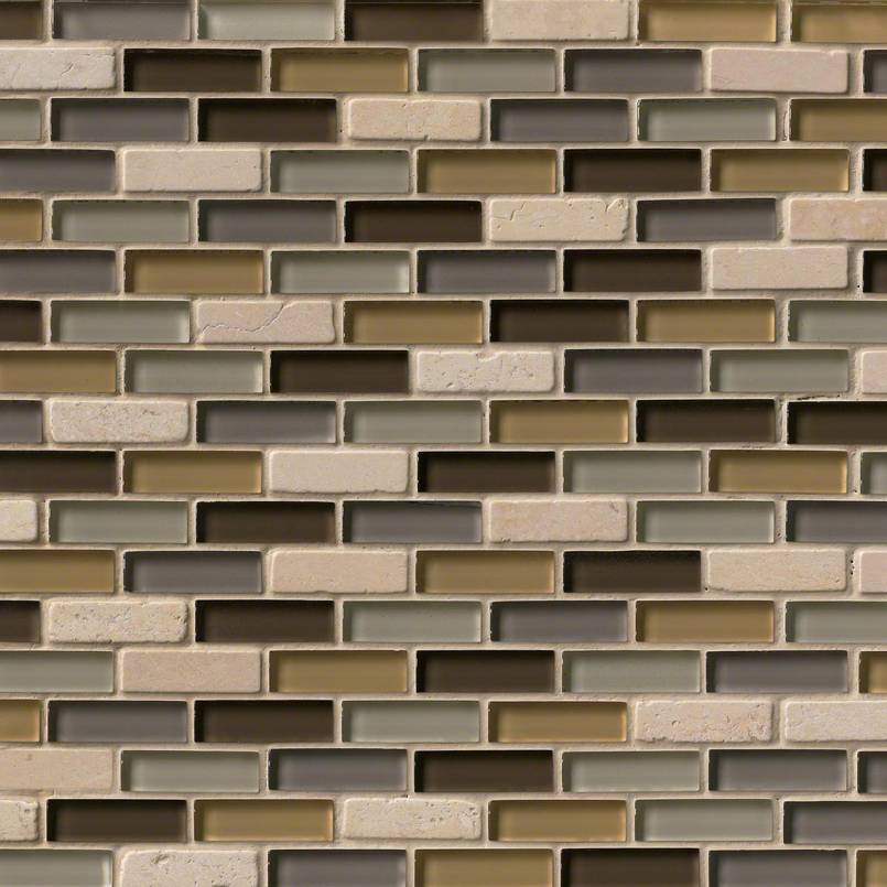 LUXOR VALLEY BRICK PATTERN 8MM Decorative Mosaic Tile