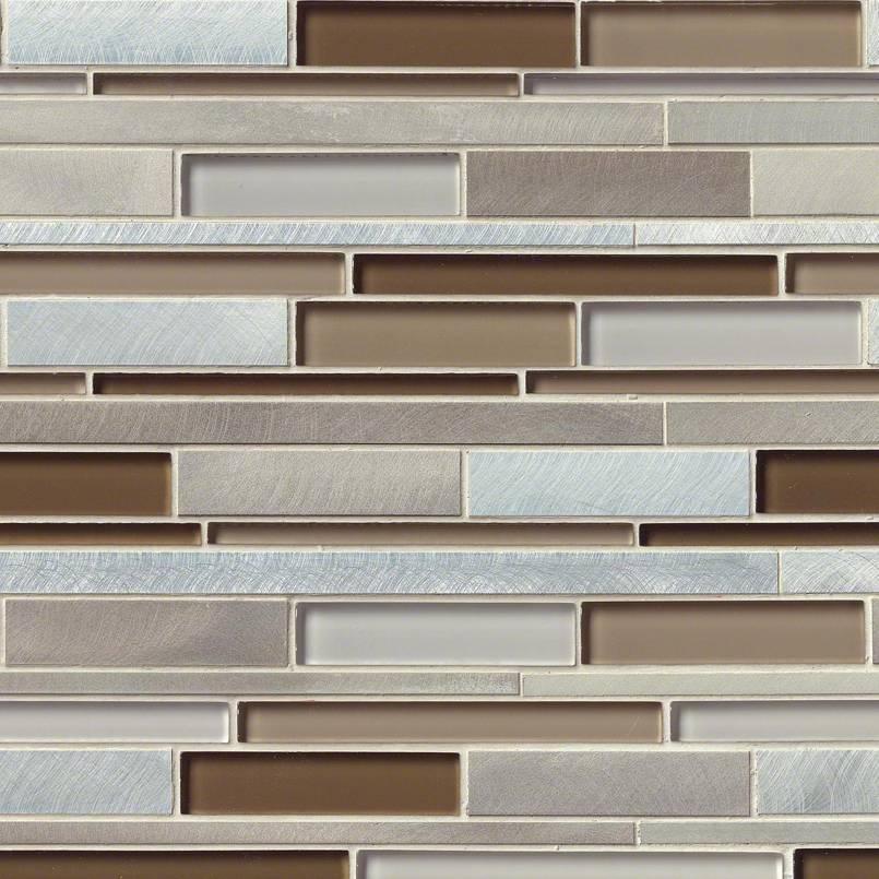 Madison Avenue Interlocking Pattern 8mm Decorative Mosaic Tile