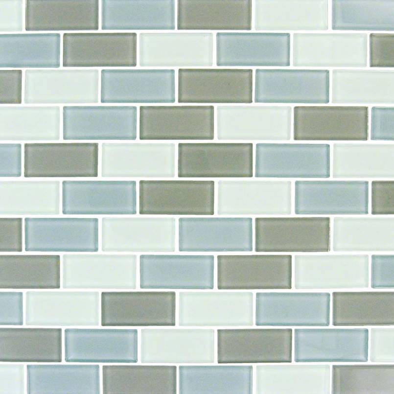 Majestic Ocean Brick Pool Tile