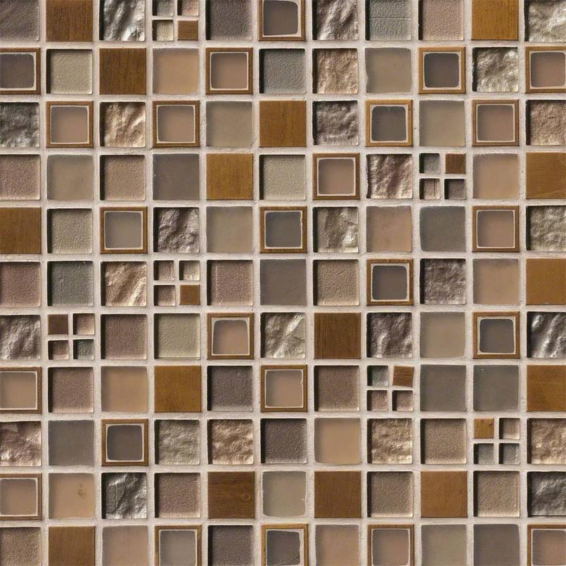 Manhattan Blend Pattern 8 Mm Backsplash Wall Tile