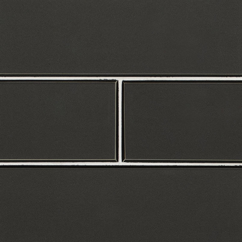 Metallic Gray Bevel 4x12