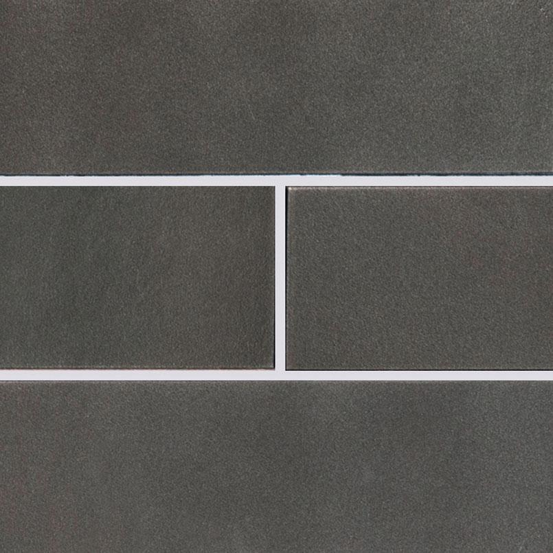 Metallic Gray Glass Subway Tile 4x12
