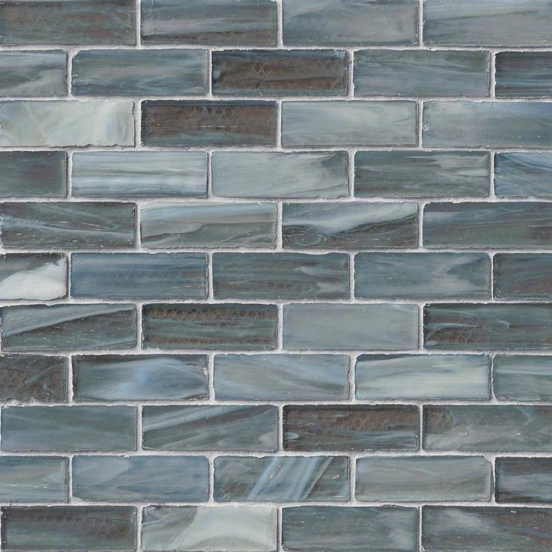 Swimming Pool Tile | Oceano Brick Glass Tile