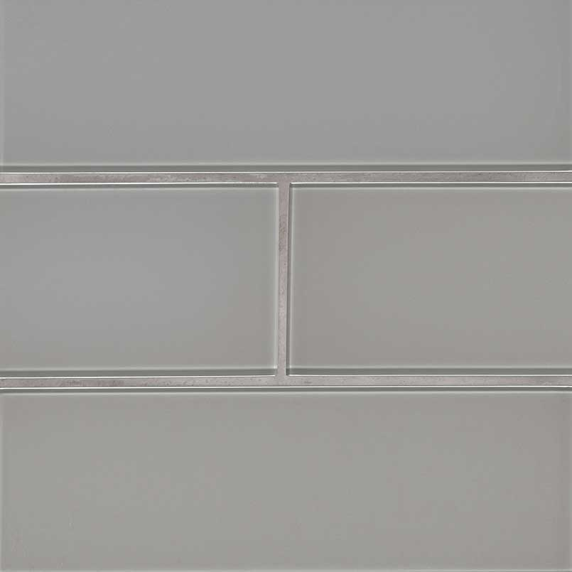 Oyster Gray Subway Tile 4x12x8mm