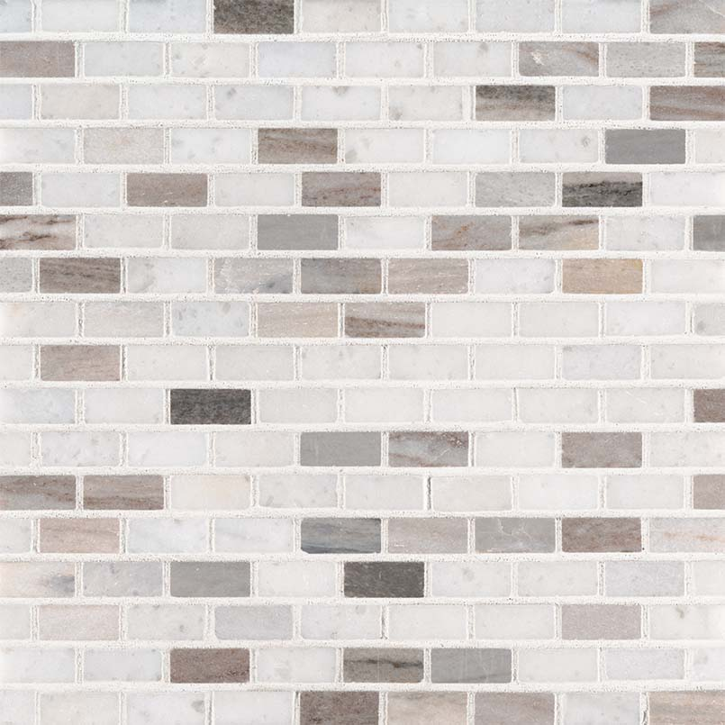 Palisandro Mini Brick Polished