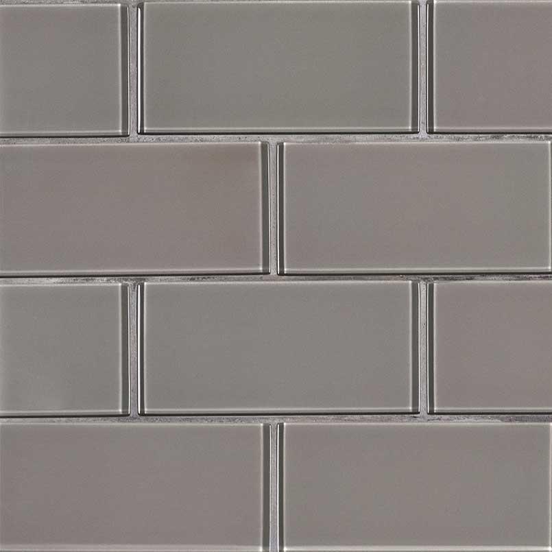 Pebble Subway Tile 3x6x8mm Gl