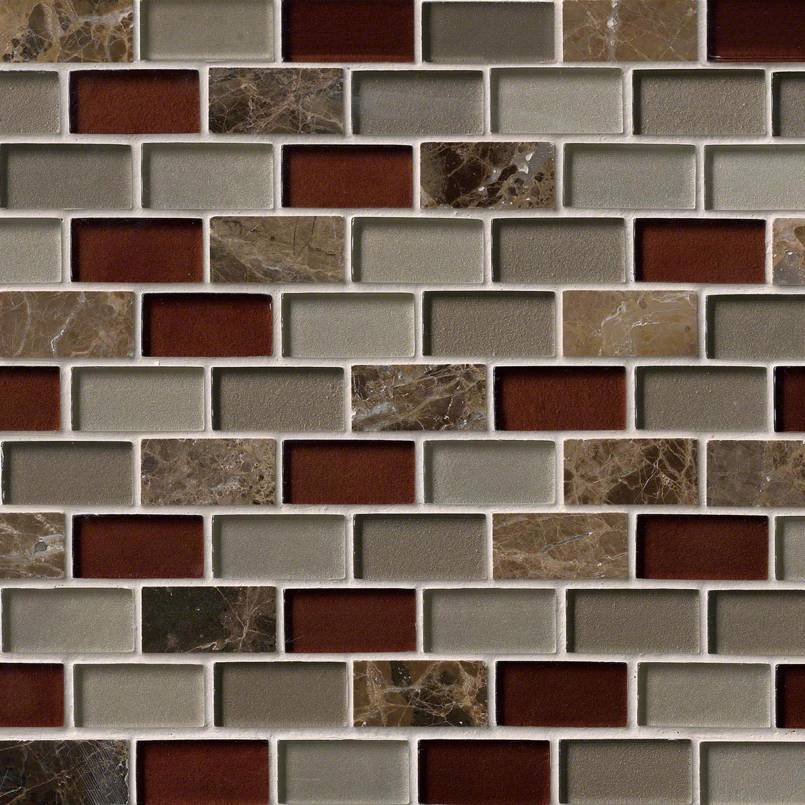 Royal Canyon 1x2x8mm Decorative Mosaic Tile