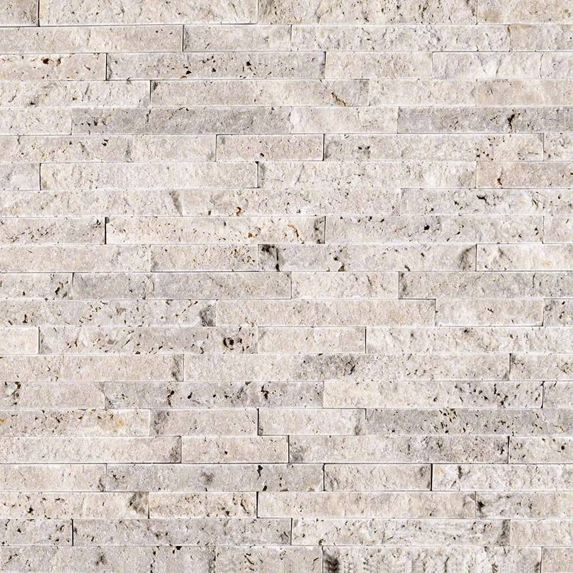 Silver Travertine Splitface