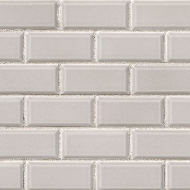 Gray Subway Tile 2x4 Beveled | Subway Tile Collection