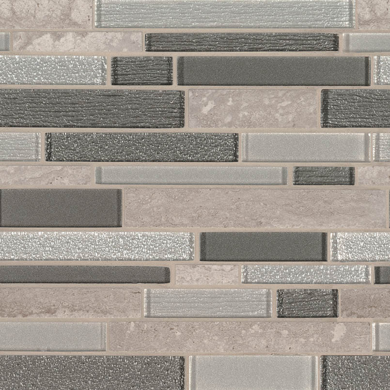 Snowmass Interlocking 8mm Decorative Mosaic Tile