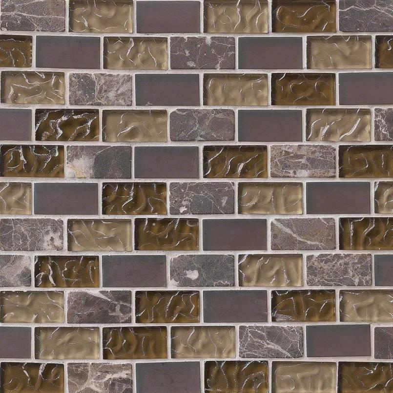 Sonoma Blend 1x2x8mm Decorative Mosaic Tile
