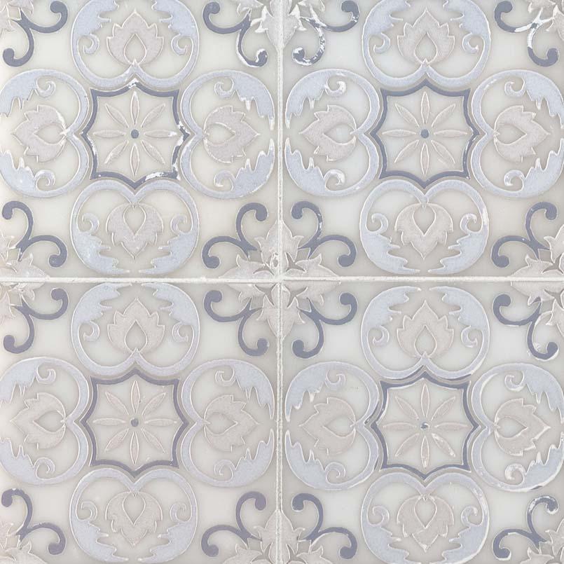 Tetris Florita Blanco 6x6