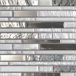 Adara Interlocking 8mm Glass Backsplash Tile