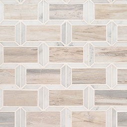 Angora Framework Polished Subway Tile Backsplash