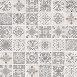 Anya Blanco 2x2x6mm Encaustic tile pattern Product Page