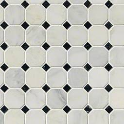 Arabescato Cararra Octagon Backsplash Tile Product Page