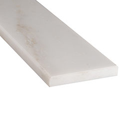 Arabescato Carrara 6x72x0.75 Polished Double Beveled Thresholds