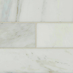 Arabescato Carrara Subway Tile 4x12 - White Tile