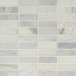 Arabescato Carrara1x3 Honed in 12x12 Mesh Product Page