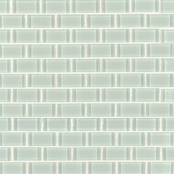 Arctic Ice 1x2x8mm Glass Backsplash Tile