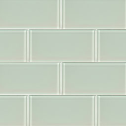 Arctic Ice 3x6x8mm Subway Tile Backsplash