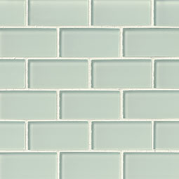 Arctic Ice Gl Subway Tile 2x4