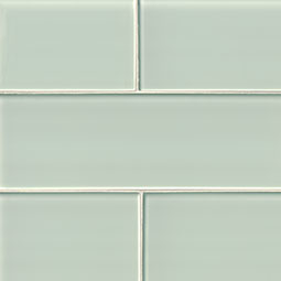Arctic Ice Glass Subway Tile 4x12