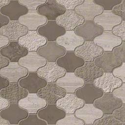 Arctic Storm Arabesque Multi Finish Backsplash Tile