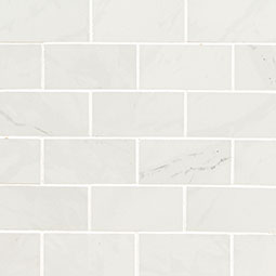 Aria Ice 2X4 Mosaic Polished - White Tile