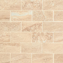 Aria Oro 2x4 Mosaic Polished Subway Tile