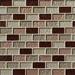 Ayres Blend 1x2x8mm Glass Backsplash Tile