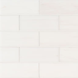 Bianco Dolomite Subway Tile 3x6 Polished