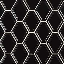 Black GLOSSY DIAMOND POSITIVE SHAPE