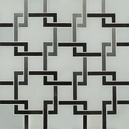 Blanco Lynx geometric tile pattern