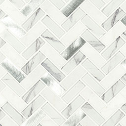 Bytle Bianco Herringbone 6mm Product Page