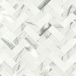 Bytle Bianco Herringbone 6mm