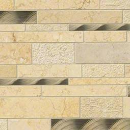 Cairo Blend Interlocking Metal Tile
