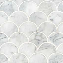 Calacatta Blanco Scallop Polished Product Page