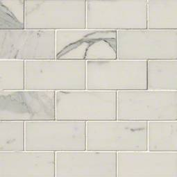 Calacatta Gold 2x4 Polished - White Tile