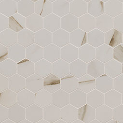 CALACATTA MATTE 2X2 HEXAGON MOSAIC Product Page