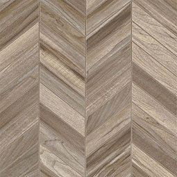 Carolina Timber Beige Chevron Mosaic 12X15