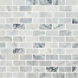Carrara Classique Brick 1x2 Honed