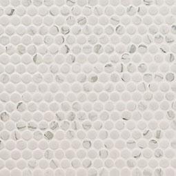 Carrara Matte Penny Round