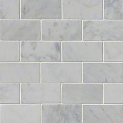 Carrara White 2x4 Polished - White Tile